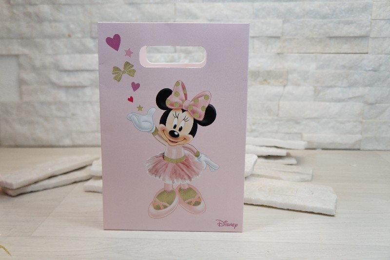 Regali e Bomboniere - Prodotti - Disney Scatoline e Box - SHOPBOX 160X75X230MM MINNIE BALLERINA *200