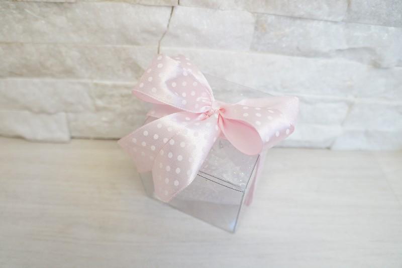 Palla Di Neve Con Unicorno Rosa  C1962