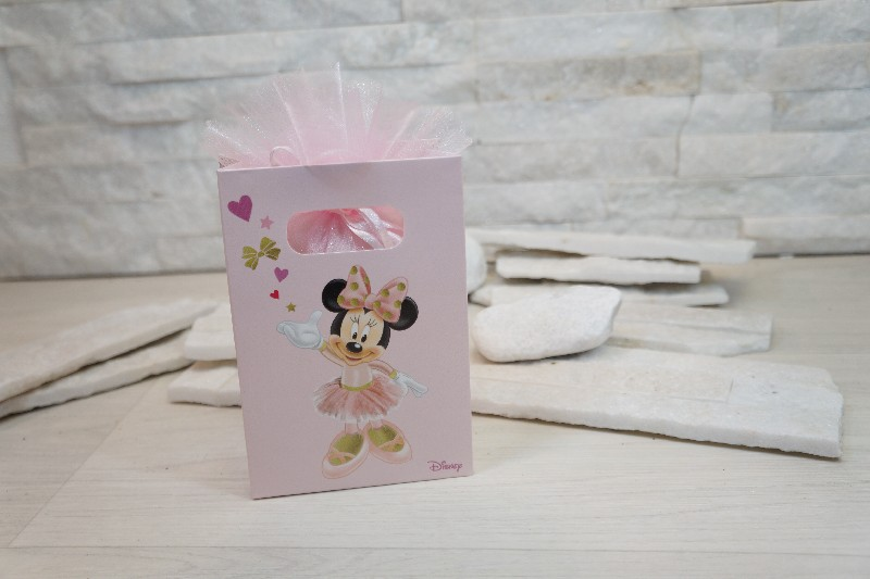 Regali e Bomboniere - Prodotti - Disney Scatoline e Box - SHOPBOX 100X50X145MM MINNIE BALLERINA *200