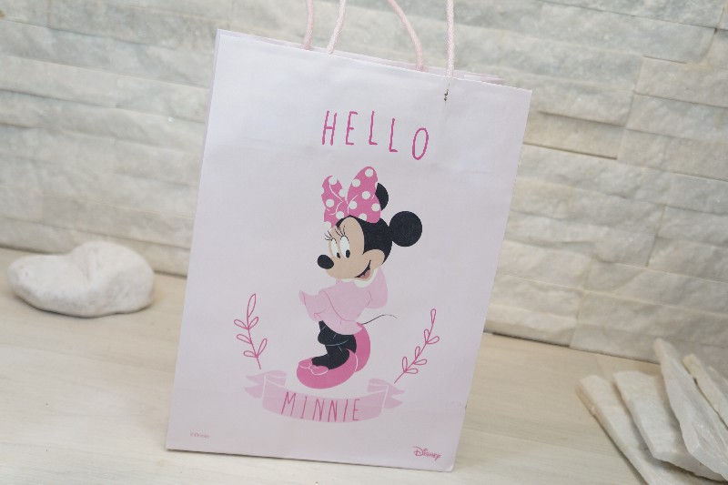 Regali e Bomboniere - Prodotti - Disney Scatoline e Box - SHOPP C 190X90X250MM HELLO MINNIE *100