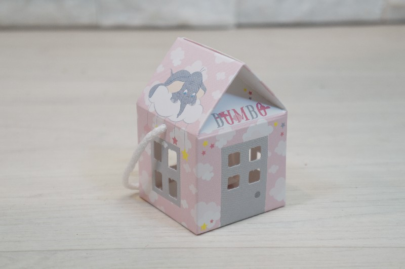 Regali e Bomboniere - Prodotti - Disney Scatoline e Box - CAS.C/CO 55X55X50MM DUMBO ROSA *200